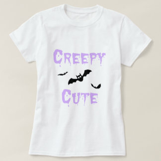 Pastel Grunge Creepy Cute Bat Art T-Shirt