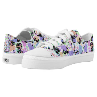 Pastel Guitar Printed Shoes