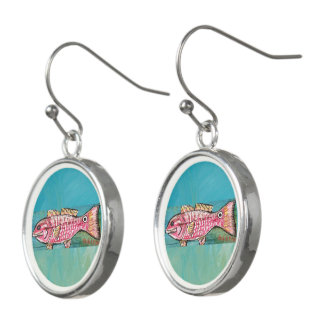 Pastel Gulf Catch Earrings
