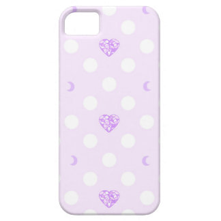 Pastel Heart Crystal and Moon iPhone 5 Cases