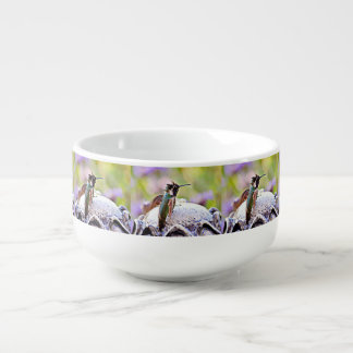 Pastel Hummer on Fountain Soup Mug
