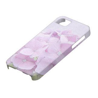 Pastel Hydrangea Flowers iPhone 5 Cases