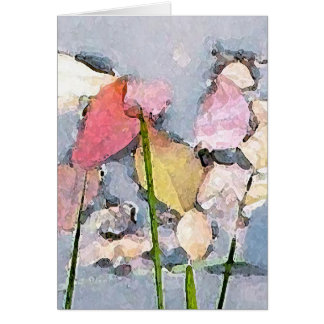 Pastel Impressions Greeting Card