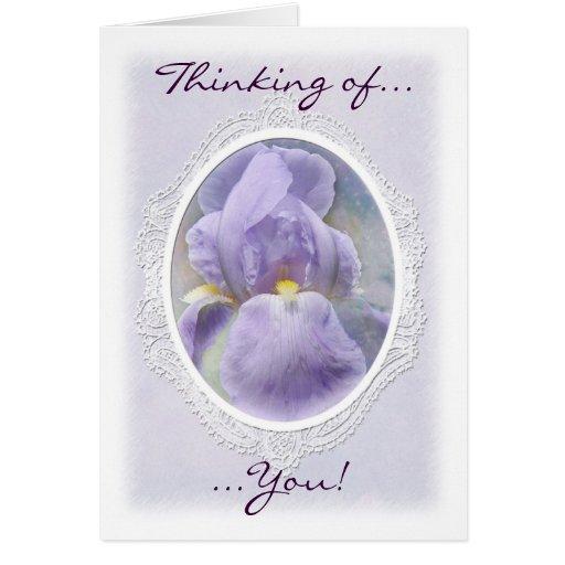 Pastel Iris Note Card