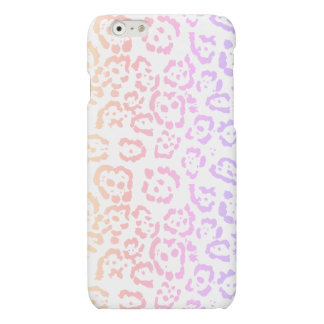 Pastel Kawaii Leopard Rainbow Animal Print