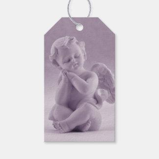 Pastel Lavender Cherub 1st Corinthians Gift Tags