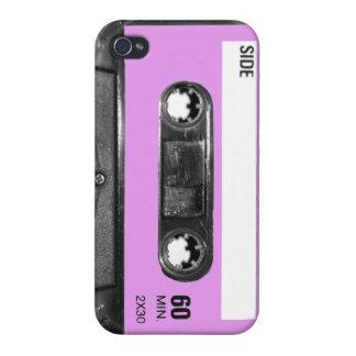 Pastel Lavender Label Cassette iPhone 4/4S Covers