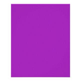 Pastel Lavender Purple Flyer
