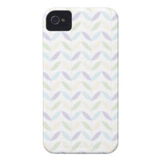 Pastel Leafs Case-Mate iPhone 4 Case