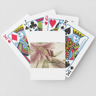 Pastel Lilly. Bicycle Playing Cards