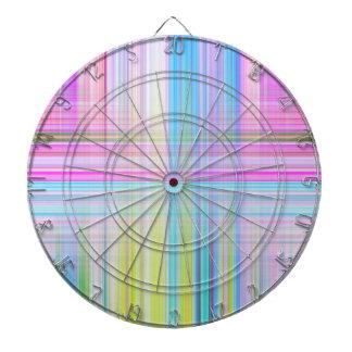 Pastel Lines Dartboard