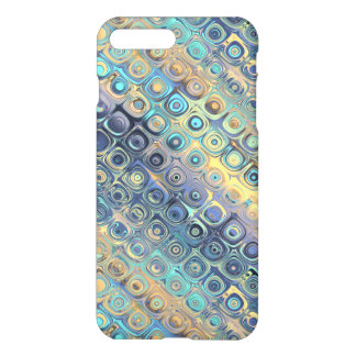 Pastel Liquid Dots Abstract Pattern iPhone 8 Plus/7 Plus Case