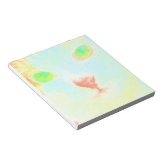 Pastel Maine Coon Cat Image - 40 Page Notepad
