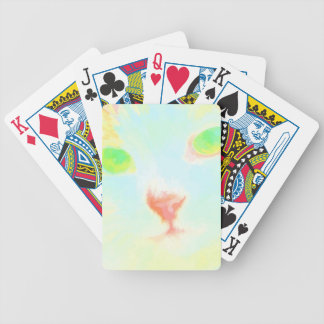 Pastel Maine Coon Cat Image Bicycle Poker Cards