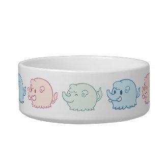 Pastel Mammoths Bowl
