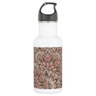 Pastel mandala pattern. 532 ml water bottle