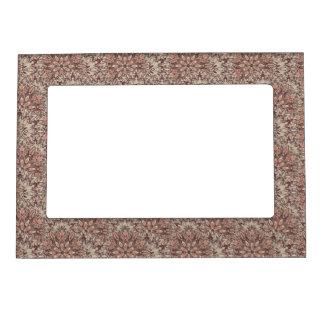 Pastel mandala pattern. magnetic frame
