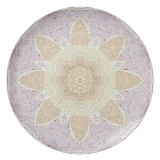 Pastel Mandala Plate