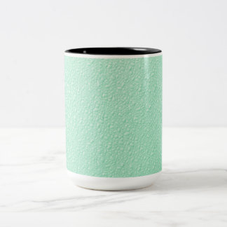 Pastel Mint Green Trendy Colors Two-Tone Coffee Mug