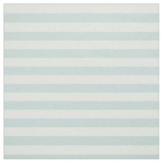 Pastel Mint Striped Fabric