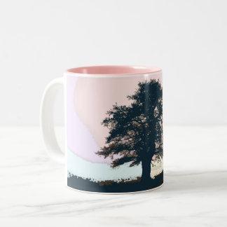 Pastel Misty Tree Art Mug