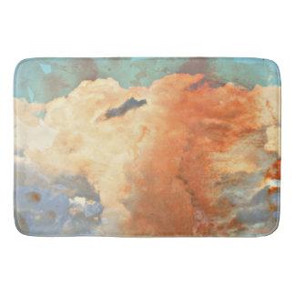 Pastel Monsoon Clouds Bath Mat Bath Mats