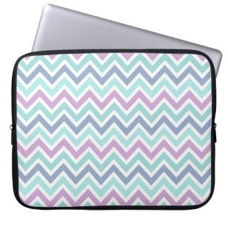 Pastel Multicolor Chevron Pattern 2 Laptop Sleeve