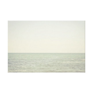 Pastel Ocean Photography Minimalism Canvas Prints