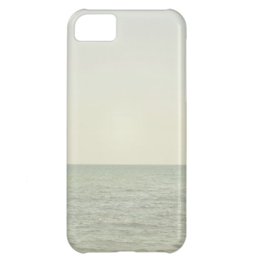 Pastel Ocean Photography Minimalism iPhone 5C Covers