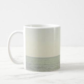 Pastel Ocean Photography Minimalism Coffee Mug