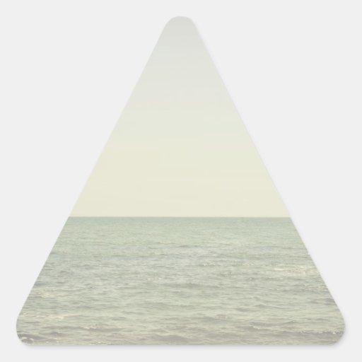 Pastel Ocean Photography Minimalism Stickers