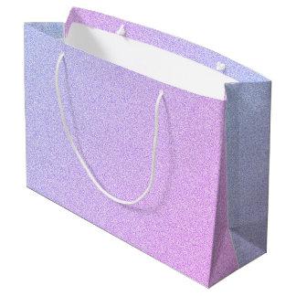 Pastel Ombre Glitter Large Gift Bag