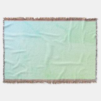 Pastel Ombre Glitter Look Throw Blanket