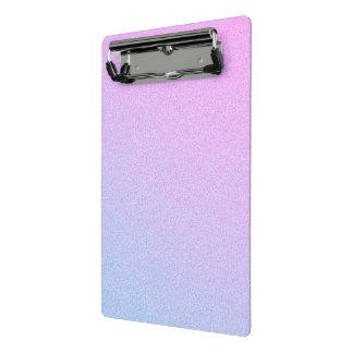 Pastel Ombre Glitter Mini Clipboard
