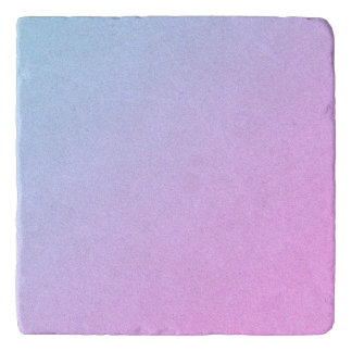 Pastel Ombre Glitter Trivet