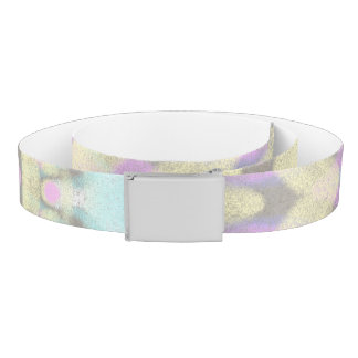 Pastel on Concrete Street Mandala (variation) Belt