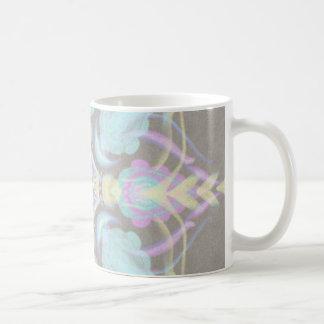 Pastel on Concrete Street Mandala (variation) Coffee Mug