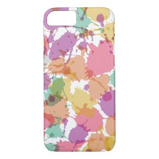 Pastel Paint Splatter iPhone 7 Case