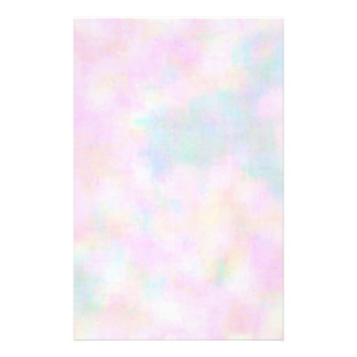 Pastel Paint Stationery