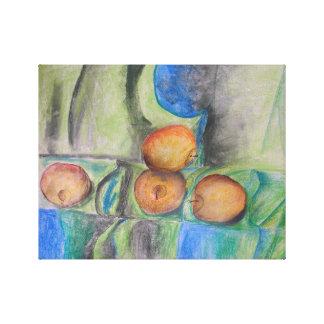 pastel painting by artist Elizaveta Limanova(me) Canvas Print