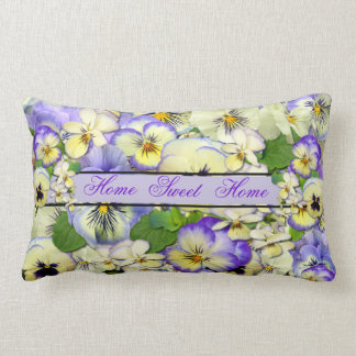 Pastel Pansies ~ Throw Pillow # 2
