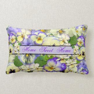 Pastel Pansies ~ Throw Pillow # 2 Throw Cushion