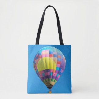 Pastel Patchwork Balloon All Over Print Tote Bag