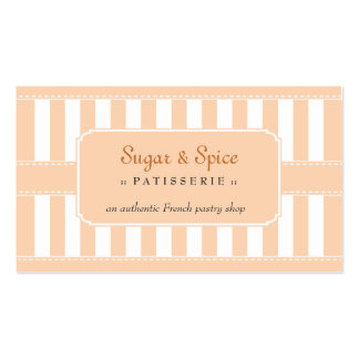 Pastel Patisserie Business Card