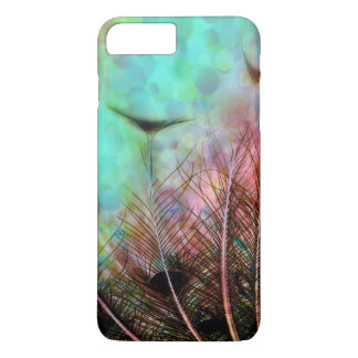 Pastel Peacock Feathers iPhone 7 Case
