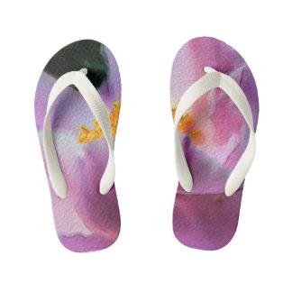 Pastel Peony Children's Flip Flops Thongs