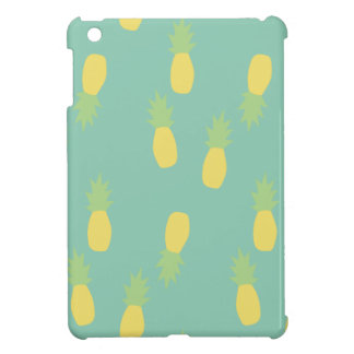 Pastel Pineapple Pattern iPad Mini Cases