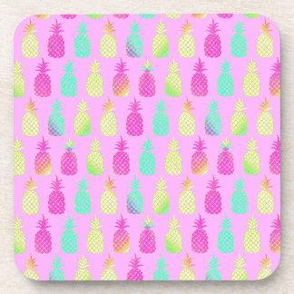 Pastel Pineapples Coaster