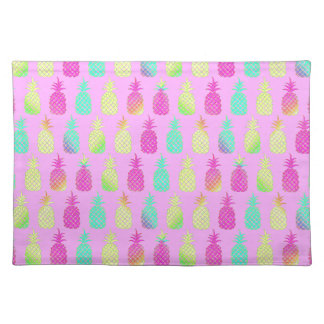 Pastel Pineapples Placemat