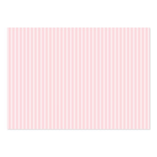 Pastel Pink Candy Stripes. Large Business Cards (Pack Of 100)